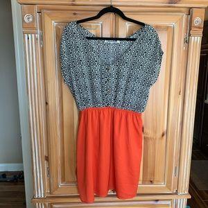 Annabella block dress